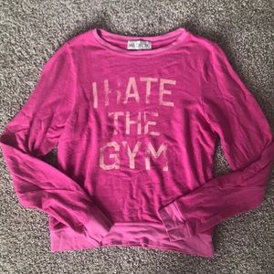 Wildfox I Hate The Gym Jumper